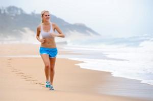 exercicios na praia